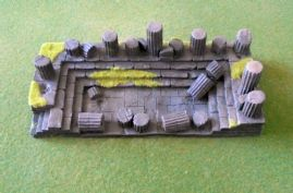 Javis Countryside Scenic Terrain JRGT15 25mm/28mm Large Ruined Temple (x 1)